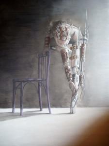 Diego Maffei – Purple Chair