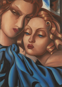 Lucia Battagliola – Omaggio a Tamara de Lempicka