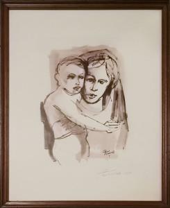 Cesare Petrogalli – Madonna con Bambino