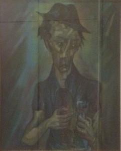 Bruno Fantini – Uomo con bicchiere