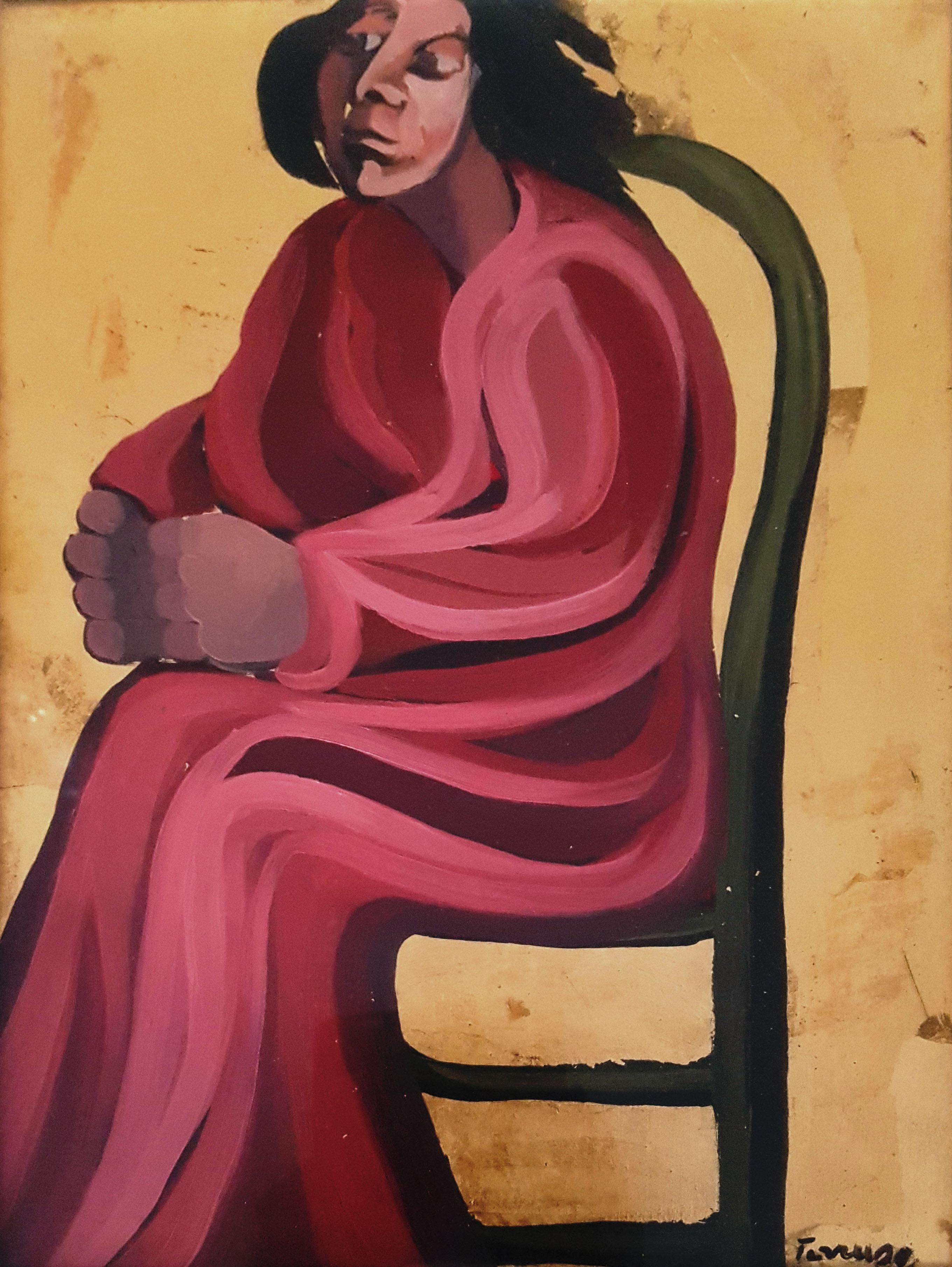 Saverio Terruso – Donna seduta