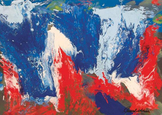 Corrado Avanzi – Cascata sul magma