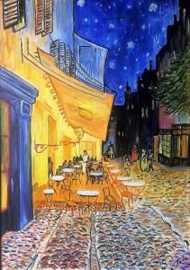 Jole – Caffè de Paris – Omaggio a Van Gogh