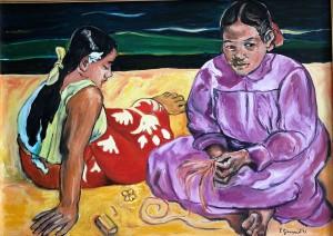 Jole – Donne di Tahiti – Omaggio a Paul Gauguin