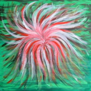 Ivana Castelliti – Fiore magico rosso