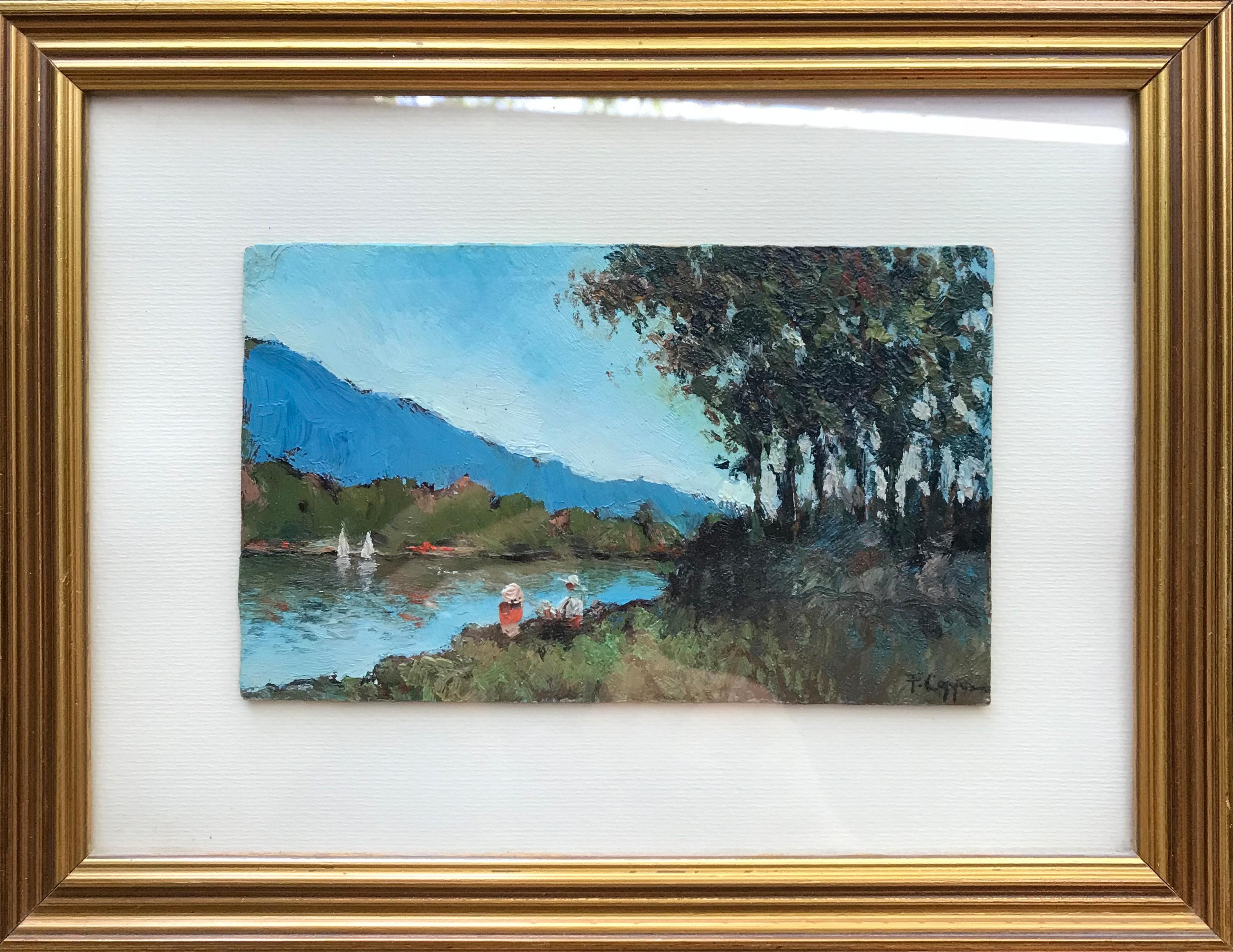 Francesco Coppa – Guardando il fiume