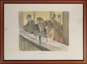 Alberto Sughi – Coppia al bar