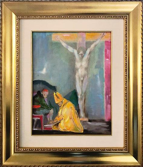 Ugo Attardi – Cristo lavaggio dei piedi