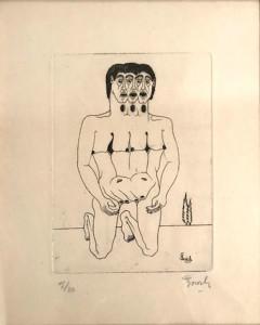 Giuseppe Bosich – Nudo di uomo