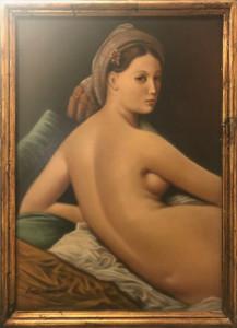Marco Paniello – Copia della grande odalisca di ingres