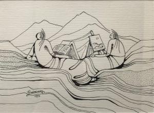 Quirino De Jeso – Le muse della poesia e della pittura