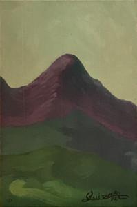 Quirino De Jeso – Paesaggio con montagne