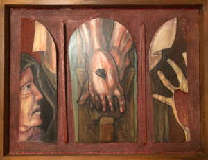 Felice Tavola – Ai piedi della croce