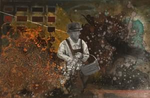 Livio Gollini – Proprietario terriero – La semina