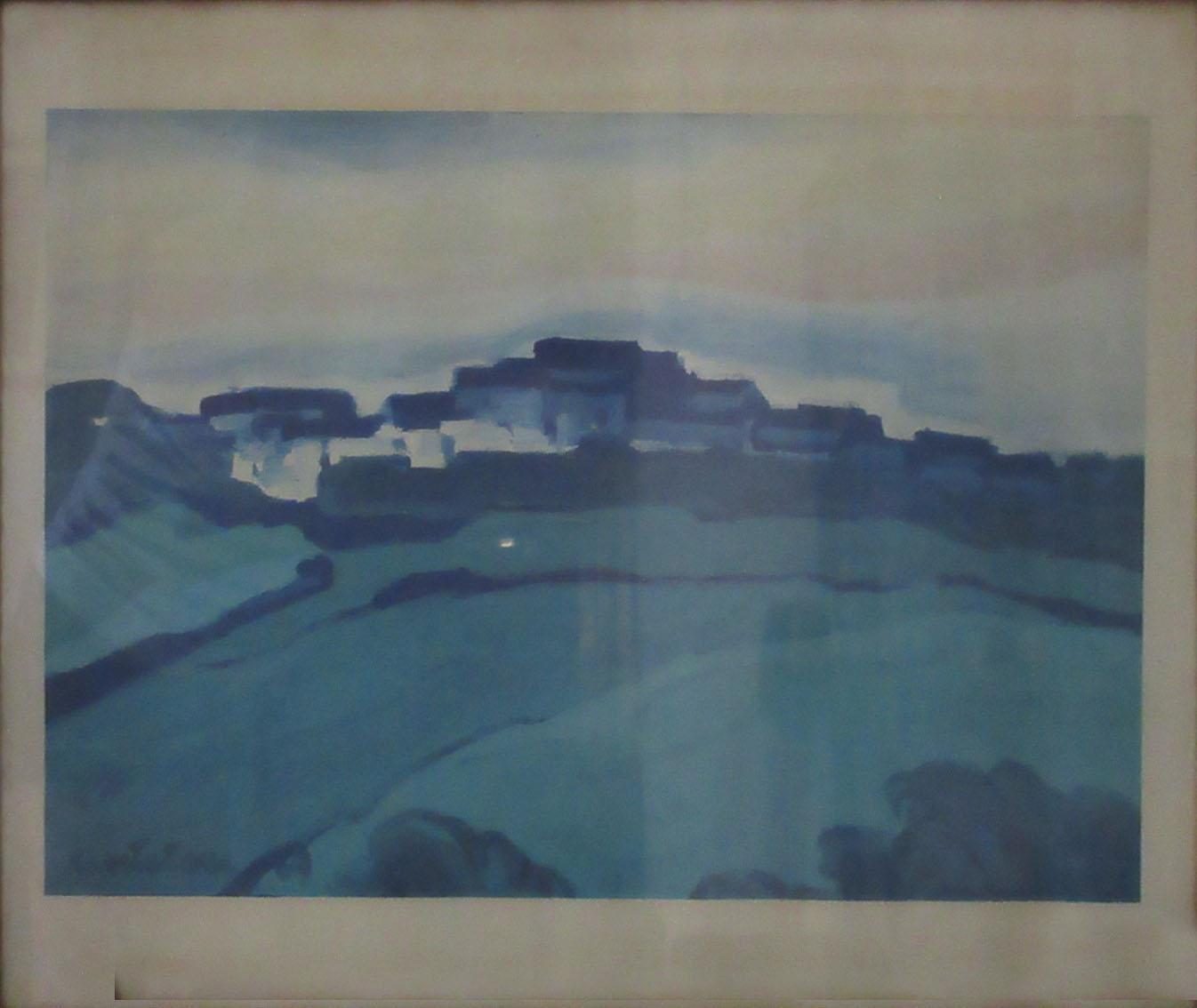 Cantenori – Paesaggio blu