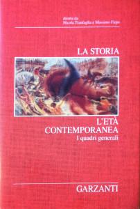 Garzanti – La storia, l'età contemporanea