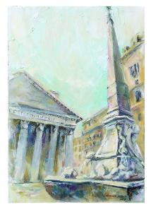 Eleonora Gudenko – Il Pantheon (Roma)