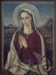 Giorgio Baitello – Madonna con paesaggio