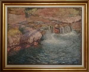 Francisco Gimeno Arasa – Paesaggio con fiume