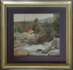 Ettore Lalli – Veduta dal ponte