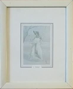 Innocenzo Melani – Donna sull'altalena