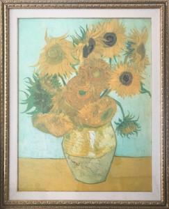 Artista sconosciuto – Girasoli omaggio a Van Gogh