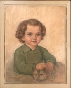 Paola Serra Zanetti – Ritratto di bimbo