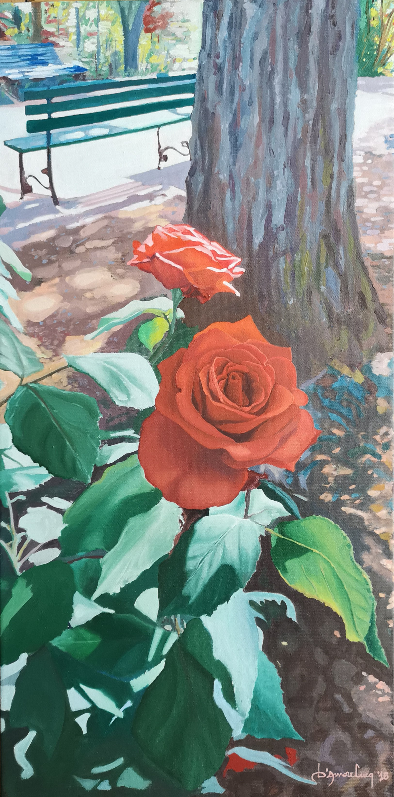 Luca D'Amore – Rose rosse
