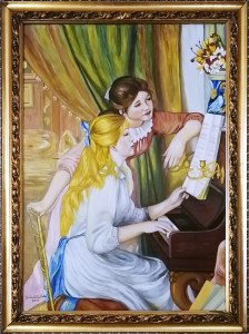 Antonietta Betrò – Le ragazze al piano, omaggio a Pierre-Auguste Renoir