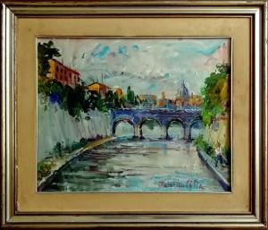 Federico Cilia – Ponte sul Tevere