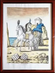 Giorgio De Chirico – I cavalli di achille
