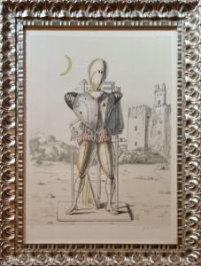 Giorgio de Chirico – Trovatore con la luna