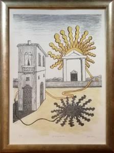 Giorgio De Chirico – Tempio del sole