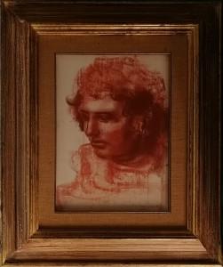Pietro Annigoni – Studio di testa