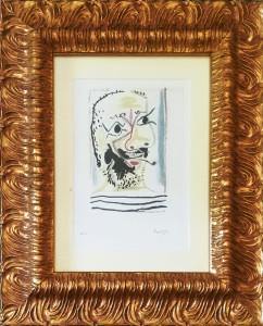 Pablo Picasso – Le fumeur