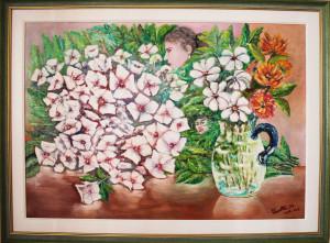 Marcello Panatta – Natura morta con fiori