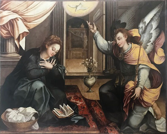 Pieter De Witte – Annunciazione