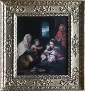 Artista sconosciuto – Madonna con bambino e santi