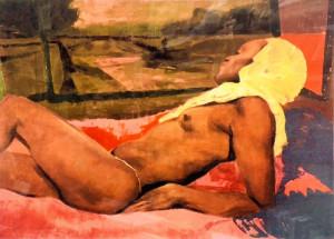 Ugo Attardi – La chiara mattinata romana