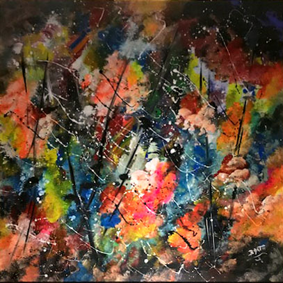 Barth – Action painting n.3