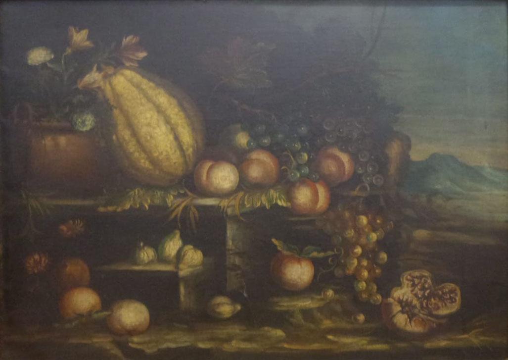 Artista sconosciuto – Composizione di frutta
