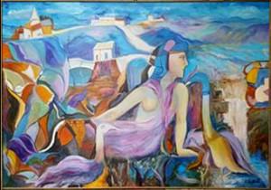 Hector Zablach – La donna en bleu
