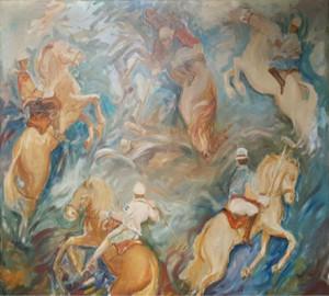Hector Zablach – Giocatori di polo