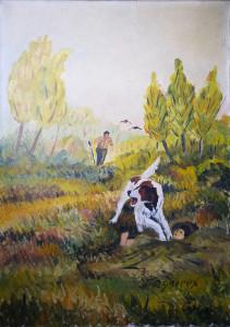 Jean-Pierre Groppx – Scena di caccia