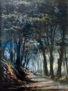Aurelio Barbalonga – Mattinata a bosco della Mesola