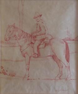 Giovanni Fattori – Mandriano