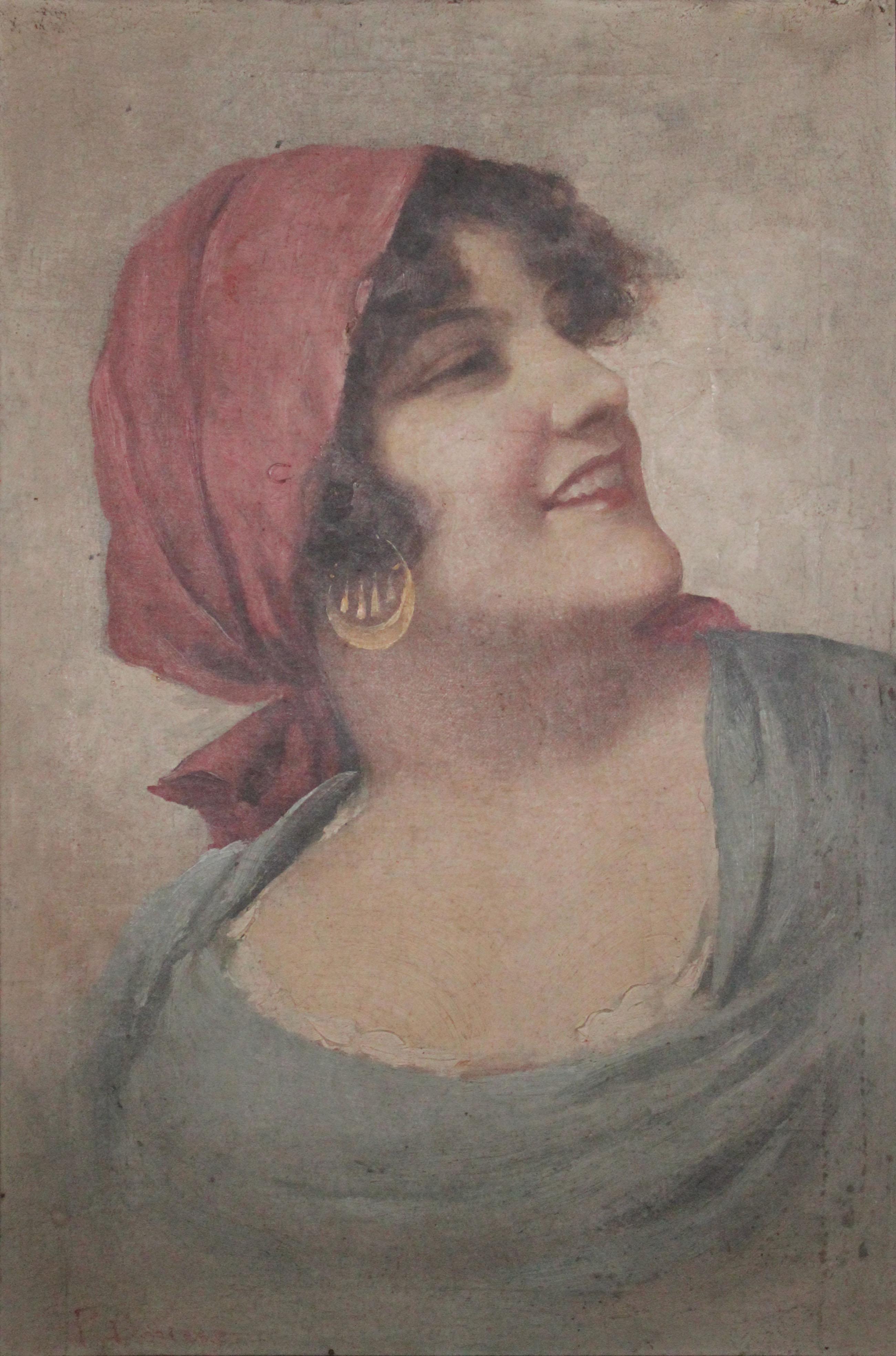 F. Dorina – Ritratto femminile