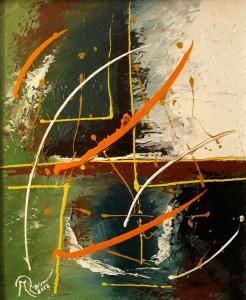 Mario Zarini – Astratto soggettivo