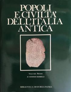 Popoli e civiltà dell'Italia Antica – Bibilioteca di storia patria