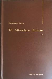 La letteratura italiana – Laterza Editore